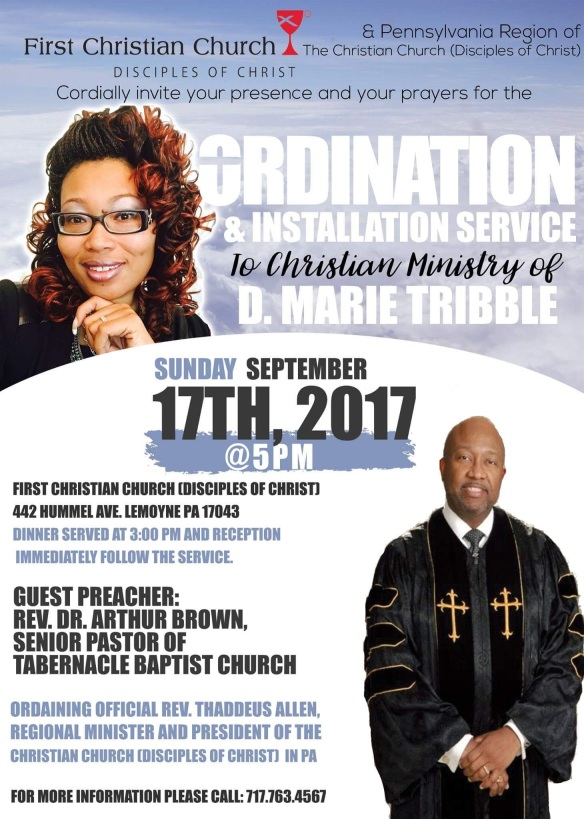 Ordination Flyer