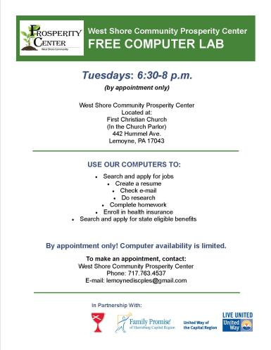 FREE Computer Lab
