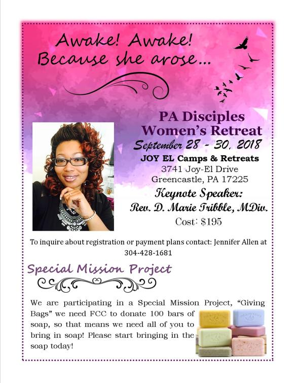 PA Disciples Women's Retreat