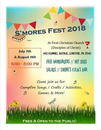 Smores Fest 2018
