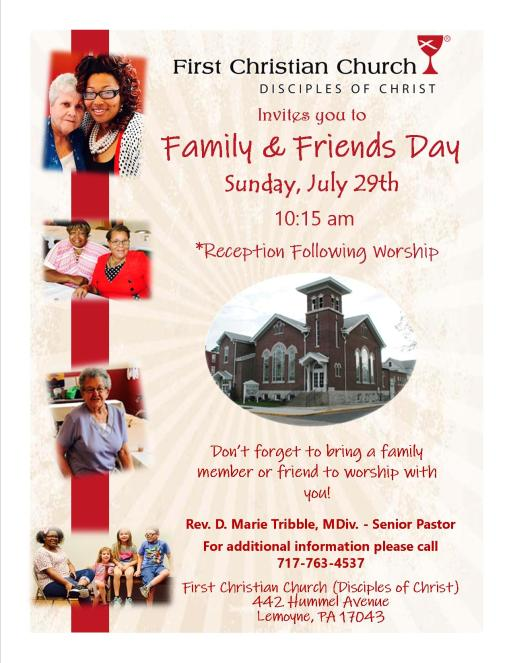 Family & Friends Day 2018