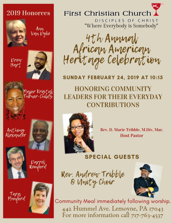 4th Annual African American Heritage Service